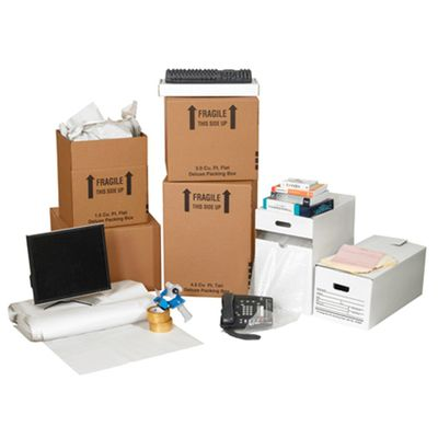 Office packing and storage